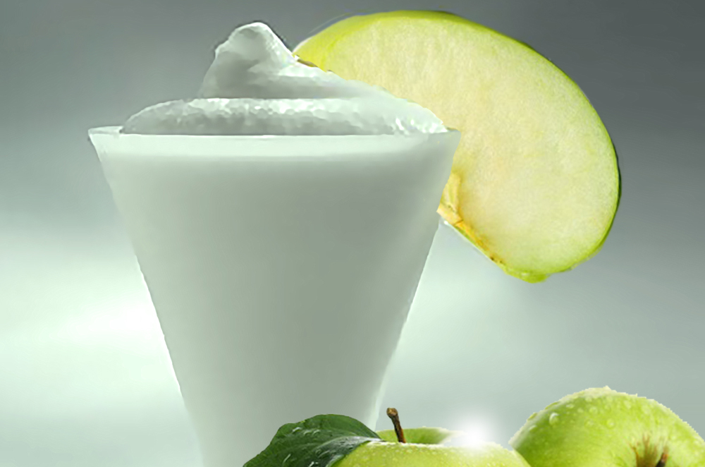 Green Apple Sorbet in tub